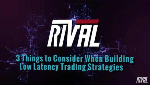 Rival Low Latency Trading Strategies