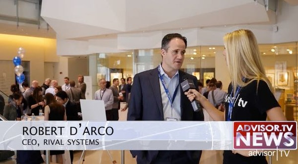 Rob D'Arco, CEO of Rival Systems at Fintech Exchange 2016
