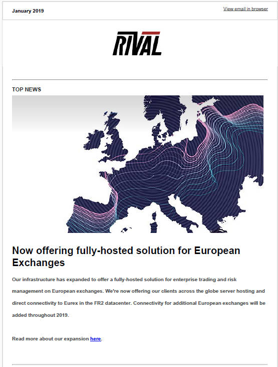 Rival Systems Q1 2019 Newsletter